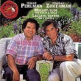 Mozart: Duos für Violine und Viola Nr. 1 & 2 / Leclair: Sonate op. 3 Nr. 4 - Itzhak Perlman