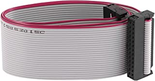Uxcell IDC Connector Flat Ribbon Cable, F/F, 26 Pin, 2.54 mm Pitch, 20