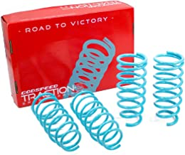 Godspeed LS-TS-MA-0008 Traction-S Performance Lowering Springs, Reduce Body Roll, Improved Handling, Set of 4