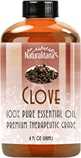 Best Clove Essential Oil (4oz Bulk Clove Oil) Aromatherapy Clove Essential Oil for Diffuser, Soap, Bath Bombs, Candles, an...
