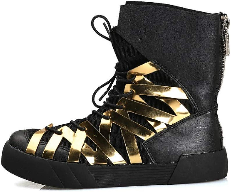 FHCGMX Mode Martin stövlar Manliga skor skor skor för män Vuxna vinterpromänader Mid Calf stövlar Bekväma Korta Skodon  på billigt