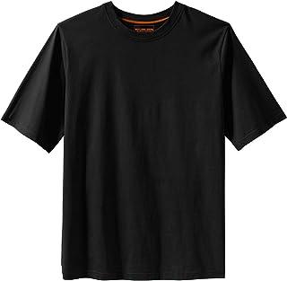 Boulder Creek Men's Big & Tall Heavyweight Crewneck T-Shirt