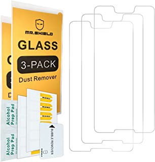 [3-PACK]-Mr.Shield For Google (Pixel 3 XL) 2018 [Tempered Glass] Screen Protector [Japan Glass With 9H Hardness] with Life...