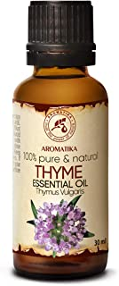 Aceite Esencial de Tomillo 30ml - Aceite de Timo Vulgaris - Austria - Aceite de Tomillo Natural se Utiliza en Baños Aromát...