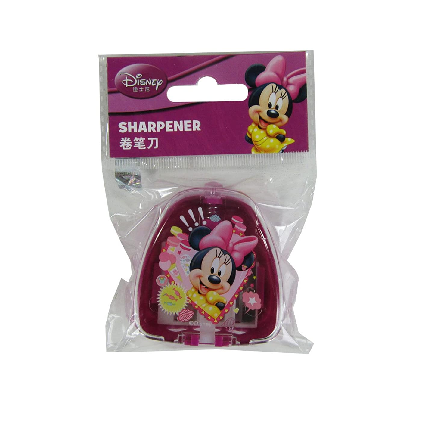 Officially Licensed Three Size Pencil Sharpener - Minnie Mouse