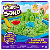 MAGICAL FLOWING SAND: Feel the difference with Kinetic Sand! Kinetic Sand is the original magical, moldable and mesmerizing sand. The unique formula makes Kinetic Sand stick together so it easily shapes and molds. Once you pick Kinetic Sand up, you w...