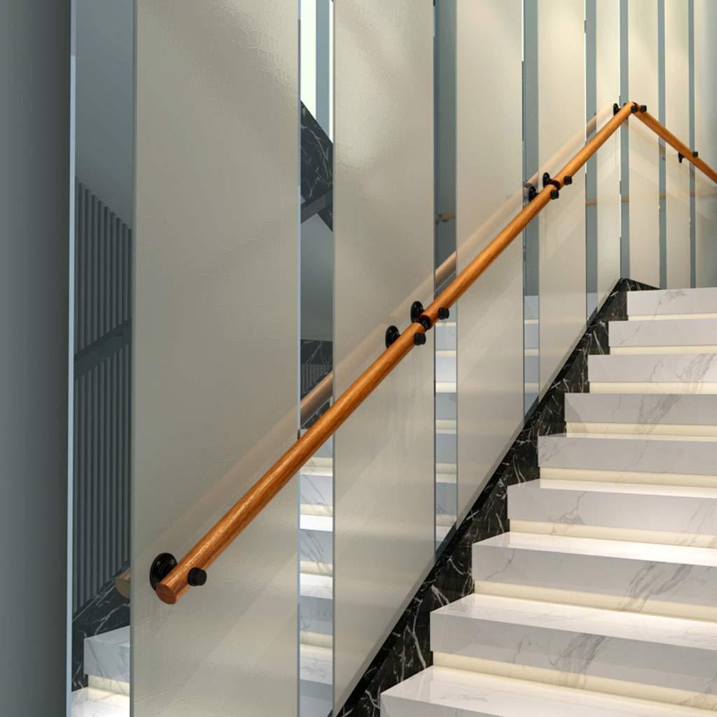 Barandillas Barandilla de la escalera barandilla pasamanos Kit completo.Pino de escalera Baranda, barandillas de seguridad de madera sólida, cubierta Pasamanos antideslizantes, adecuados for villas, b: Amazon.es: Hogar