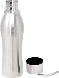 Kuber Industries Zen Stainless Steel Fridge Water Bottle/Refrigerator Bottle/Thunder, 1000 ML (Sliver) - CTKTC31415