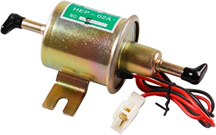 Universal Automotive modificado HEP-02A 12 V Heavy Duty Metal eléctrica bomba de combustible para