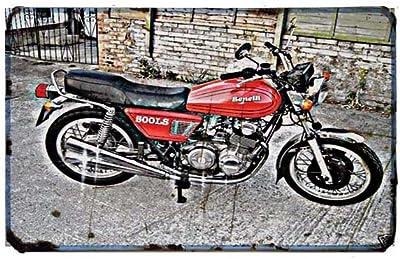 Red Rat Bultaco Sherpa Trials - Señal de Moto (A4, Aluminio ...