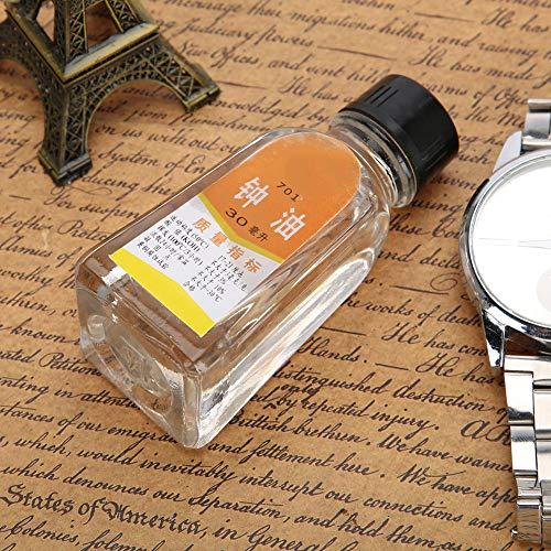 Con Fuerte Fuerza Osmótica, Lubricante De Reloj Duradero, Aceite De Reloj De Evaporación Lenta, Para Relojeros Reparadores De Relojes