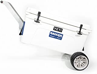 Badger Wheels - Large Single Axle with Rigid Handle/Stand for Yeti Tundra 35-160