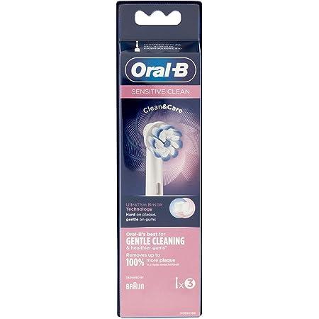 Oral-B Sensitive clean Rechange pour Brosse à Dents Électrique, 3 unités