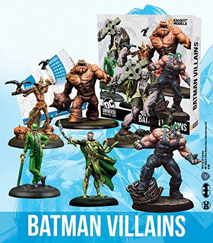 Knight Models Juego de Mesa - Miniaturas Resina DC Comics Superheroe - Batman Villains