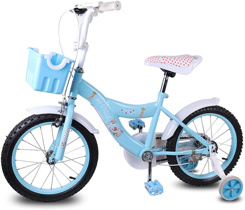 CARWORD 16-Zoll-Jungen-Kind-Fahrrad-Kinderfahrrad Toybike mit Stabilisatoren 2-11 Jahre alt mit Flash-Trainingsrad für Jungen und Mdchen