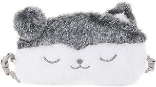 ZOYLINK Máscara para Dormir De Dibujos Animados Perro Divertido Ciervo Oso Cubierta Suave para Los Ojos para Dormir Felpa ...