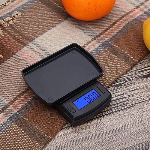 Taschenwaage Feinwaage Digitalwaage Waage 100/200/300 / 500G X 0,01G Digitale Mini-Taschenwaage Für Gold Silber Schmuck Küchenwaagen Balance Gramm Küchenwaagen-100 G 0,01 G