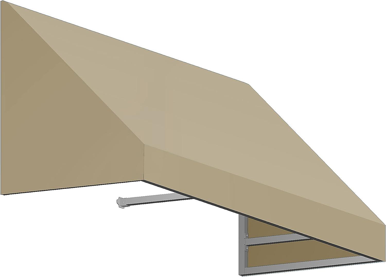AWNTECH Max 68% OFF 5 ft. New Yorker Cheap SALE Start Rigid Awning Valance Door Style Window