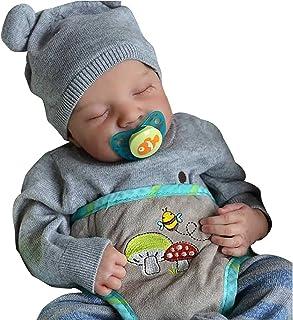 Reborn Baby Dolls 12Inch Silicone Full Body Rebirth Doll Realistic Silicone Baby Doll Lifelike Baby Realistic Reborn Newbo...