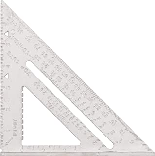 Speed Square 7 Inch Layout Tools Carpenter's Squares Framing Square Professional Aluminum Rafter Square
