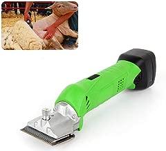 Cordless Clipper Sheep Hair Trimmer Cutter Set, 480W For Farm Goats, Alpaca, Llamas, Angora Rabbits, Camels, Horse, Pet Clipper Cutter