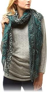Me Plus Women Lightweight Animal Print Fall Winter Fashion Scarf Shawl Wrap