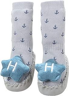 Infant Non-Slip Floor Socks Non-Slip Children Toddler Girl Boy Shoes Cotton Knitting Soft Soles Baby Long Socks