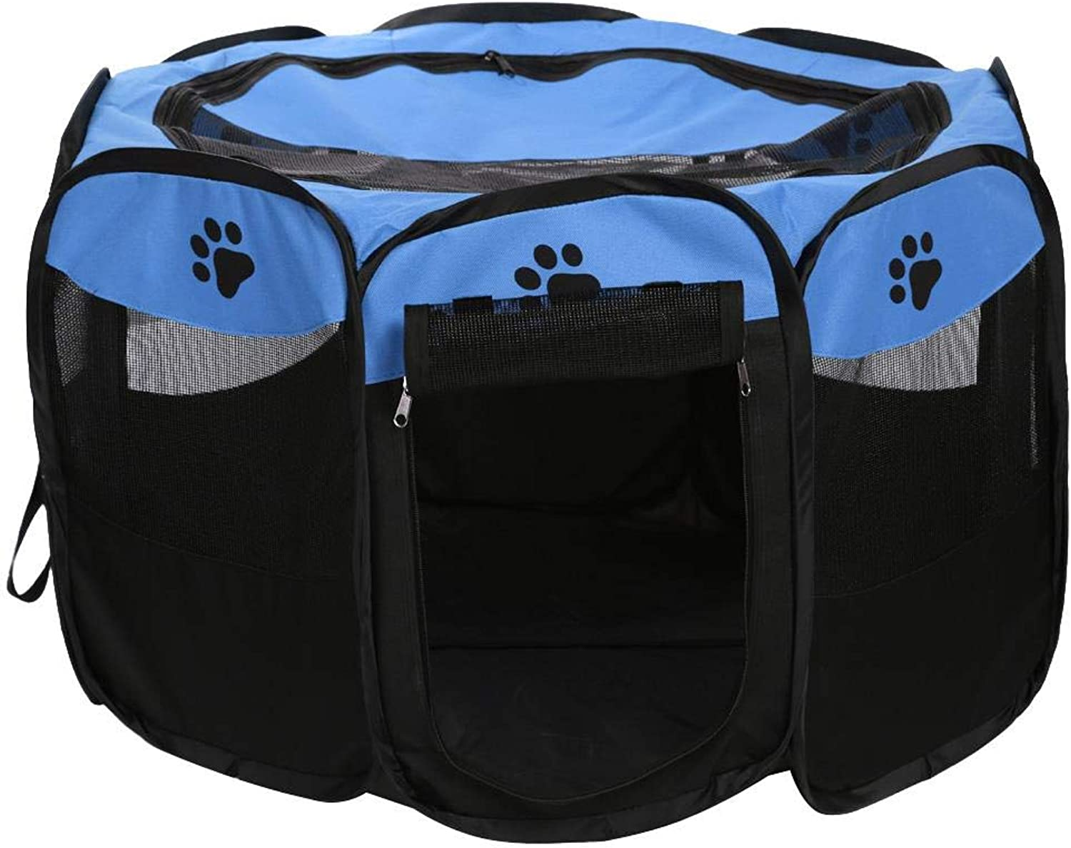 Diamondo Portable Folding Pets Dog Tent House Cage Puppy Dogs Outdoor Kennel Fence