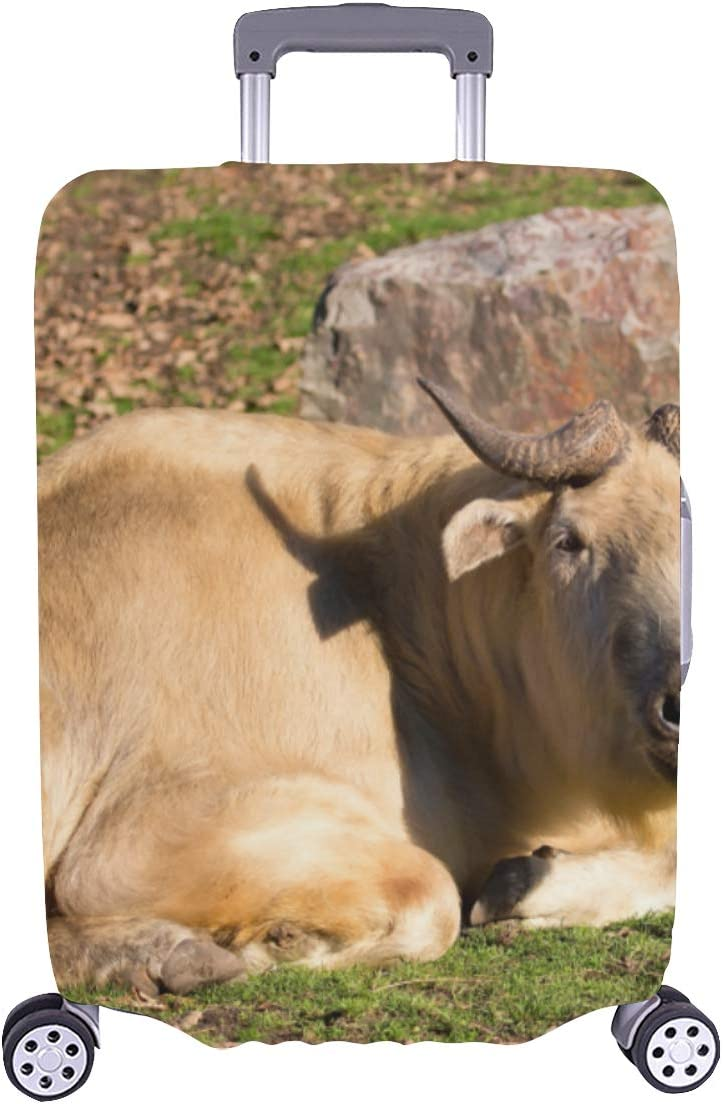Suitcase Max 81% OFF Cover Protector At the price Travel Cute Animal Lucky Durable Takin