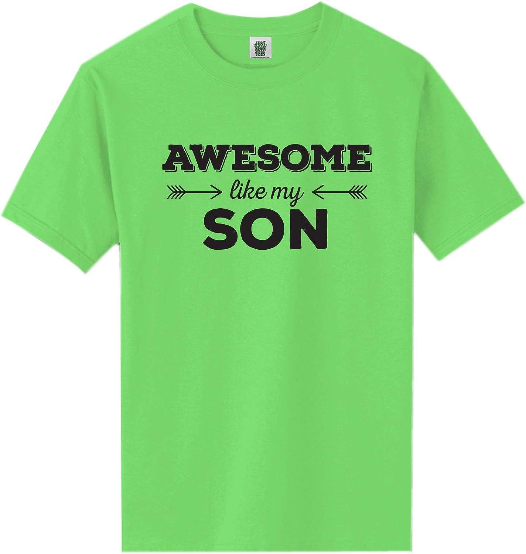 zerogravitee Awesome Like My Son Short Sleeve Neon Tee