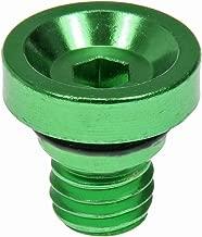 Dorman 712-X95F Wheel Nut Cap, Green Aluminum (Pack of 20)