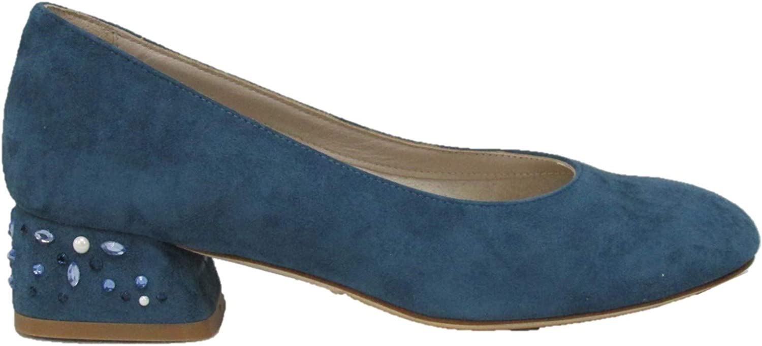 Melluso , Damen Pumps Blau Blaubarry