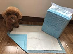 50 - Dog Puppy 17x24 Pet Housebreaking Pad, Pee Training Pads, Underpads