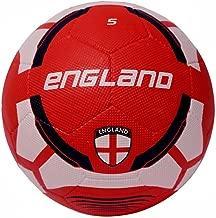 Vector X Men England-RB-5 Football - White-Red, 5