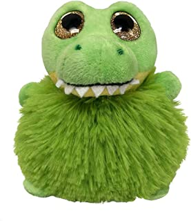 Fiesta Toys Sean The Alligator Pom Pals Bean Bag Small Stuffed Animal Toy - 4.5 Inches