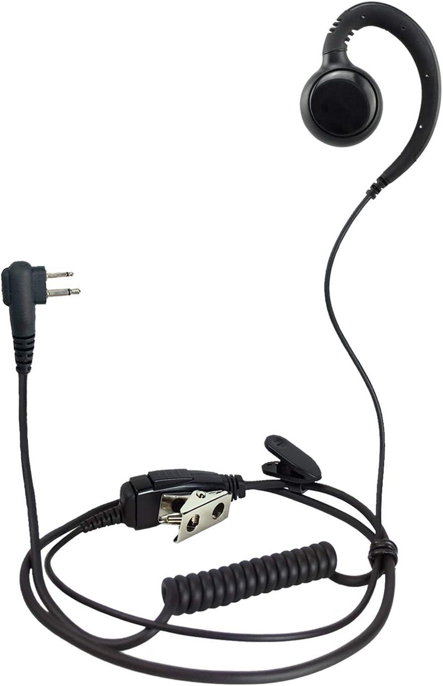 ProMaxPower Two Way Radio Swivel lowest price for Motoro Headset PTT online shopping Earpiece
