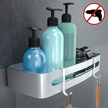 AmazonBasics - Estante para ducha, con ventosa: Amazon.es: Hogar