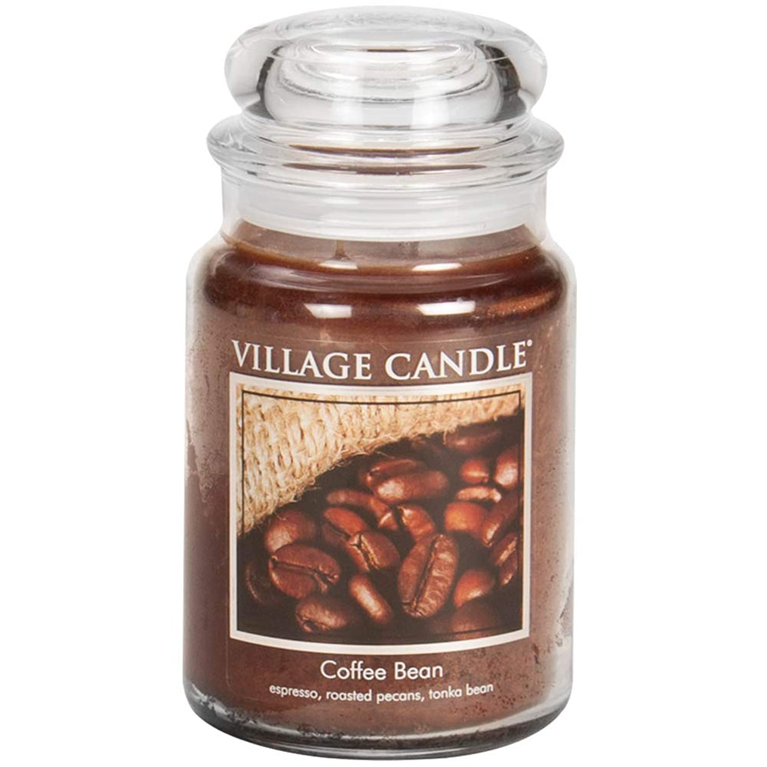 すべて通信網哀れなVillage Candle Scented Large Jar 26oz - COFFEE BEAN by Village Candle