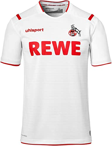 Uhlsport 2019-2020 Koln Home Football Soccer T-Shirt Maillot