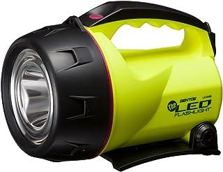 GENTOS(ジェントス) LED 懐中電灯 【明るさ330ルーメン/実用点灯21時間】 置いても使える 単1形電池4本使用 ザ・LED LK-114G ANSI規格準拠
