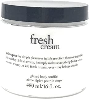 Philosophy Fresh Cream Glazed Body Souffle 16oz