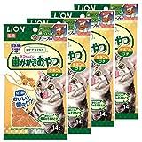 ライオン (LION) ペットキッス (PETKISS) 猫用おやつ ネコちゃんの歯みがきおやつ プチ 4個パック チキン味 (まとめ買い)