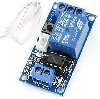 HiLetgo 5V 1 Channel Latching Relay Module with Touch Bistable Switch MCU Control