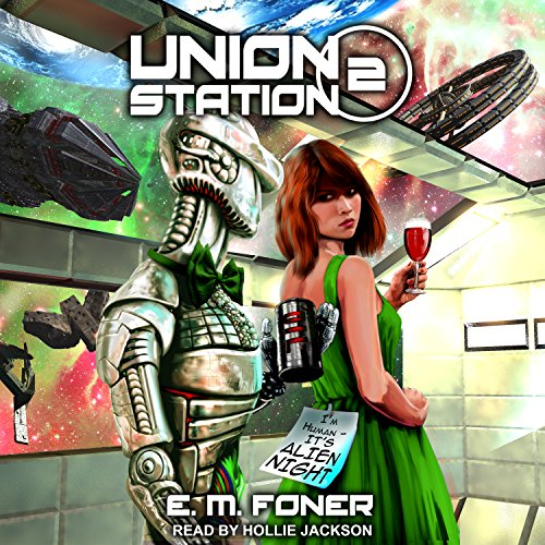 Alien Night on Union Station audiobook cover art