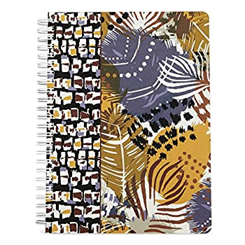 Vera Bradley Mini Notebook with Pocket Painted Feathers  12337-663