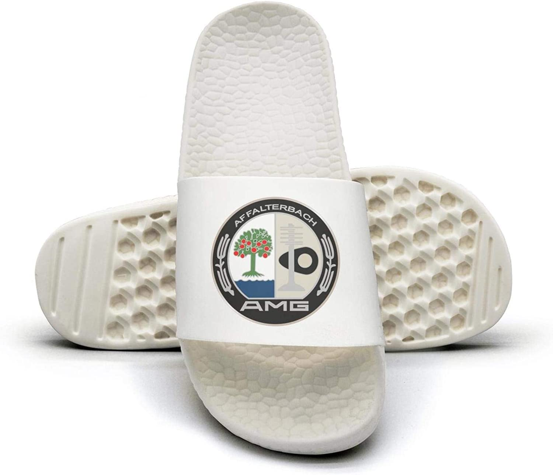 EIGKASL Printed Non-Slip Slippers Slides flip Flop Sandals AMG-Logo-Summer Fashion for Womens