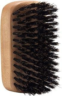 Denman Jack Dean - JDMB55- Military Styling Beard Hair Brush – Made from Natural Bristle & Luxury Italian Beechwood for Men