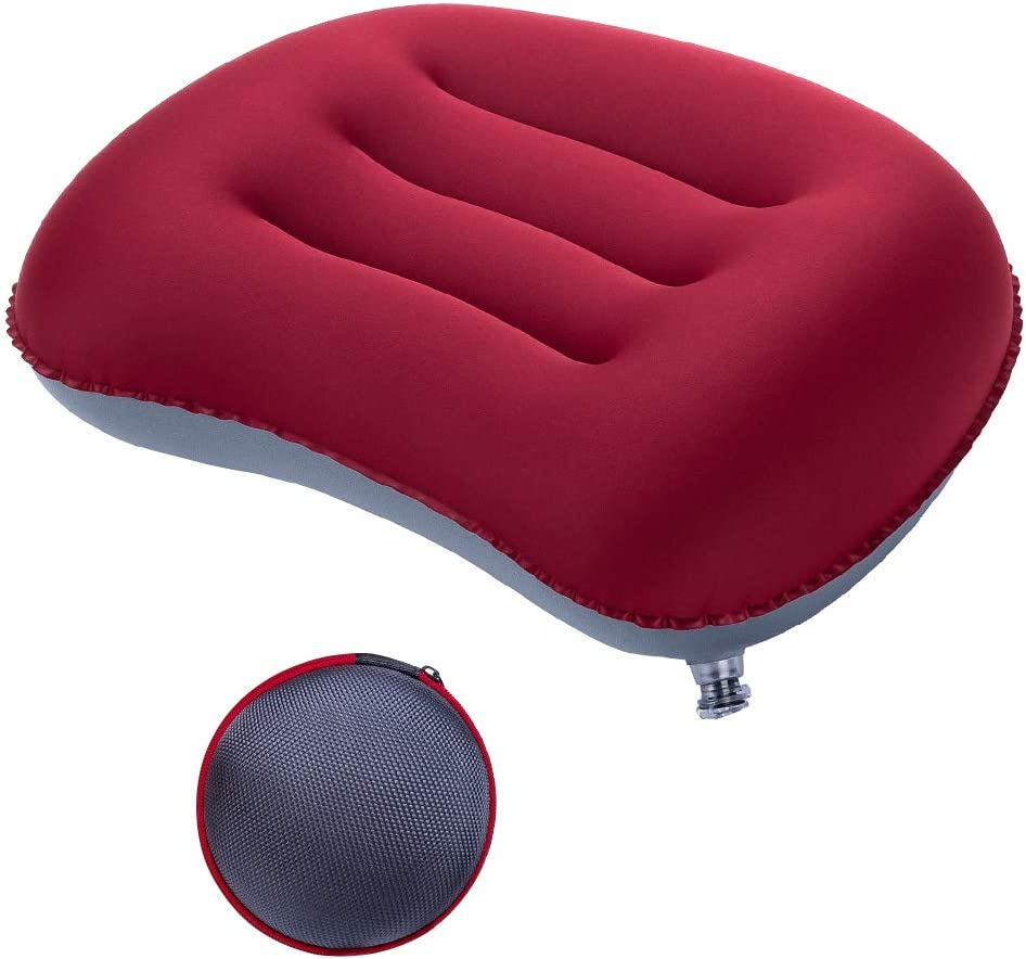 FMS quality assurance Ultralight Max 59% OFF Inflatable Camping Compressible Travel Pillow Po
