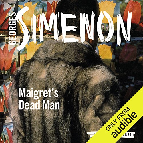Maigret's Dead Man audiobook cover art
