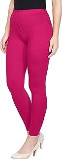 Saundarya Women's Leggings Ankle Length Cotton Fabric